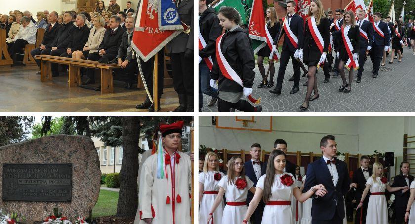 Uroczystości Powiat, Miejsko powiatowe obchody - zdjęcie, fotografia