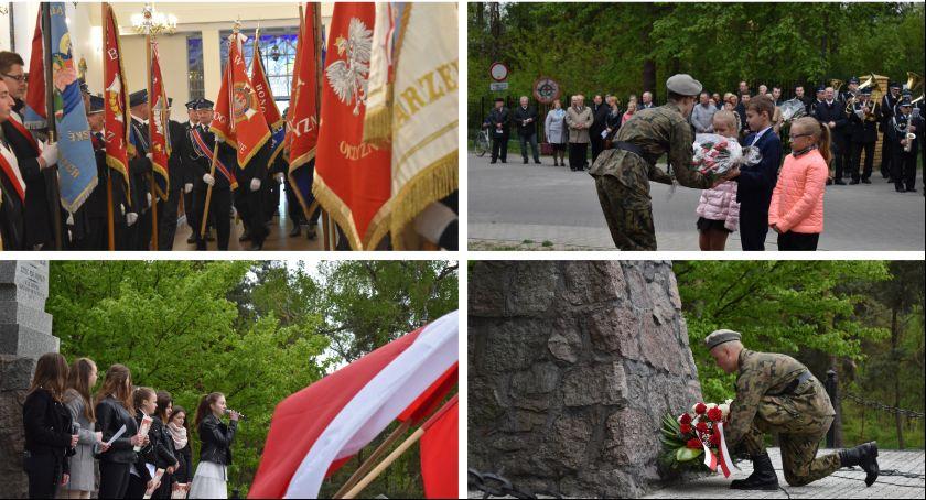 Uroczystości Powiat, Łaskarzewie - zdjęcie, fotografia