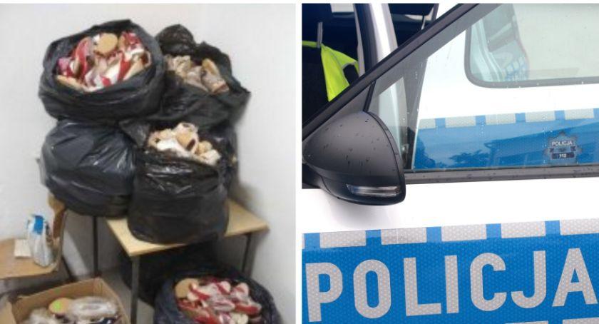 Sprawy kryminalne , Ukradł butów Policjanci odzyskali warty - zdjęcie, fotografia