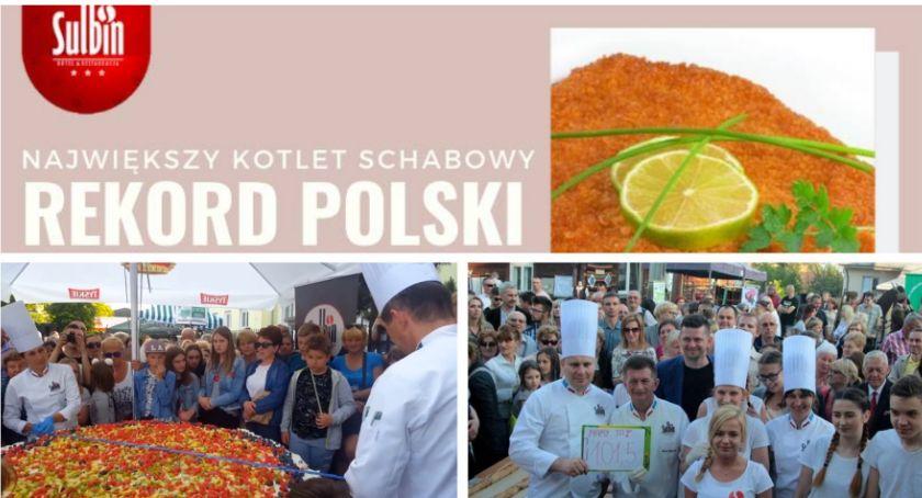 Inne Ciekawostki, Ustanowią kolejny rekord Polski niedzielę usmażą największego schabowego! - zdjęcie, fotografia