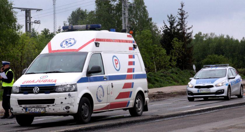 Wypadki drogowe , Kierowała motocyklem uprawnień Doprowadziła wypadku - zdjęcie, fotografia