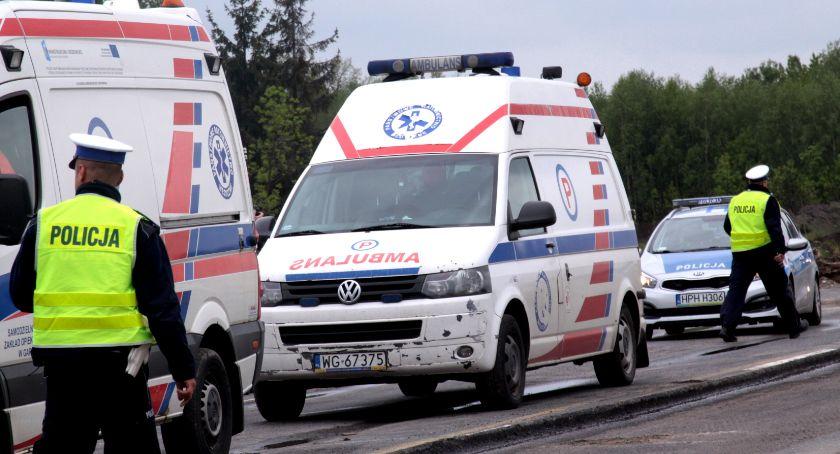 Inne Powiat, Zwłoki rowie Tragiczne okoliczności wypadku - zdjęcie, fotografia