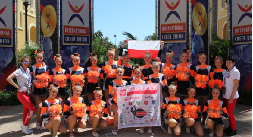 Inne Ciekawostki, Garwolińskie cheerleaderki podsumowują wyjazd - zdjęcie, fotografia