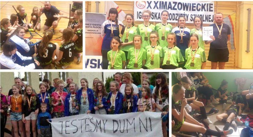 Inne Dyscypliny, Sukces dziewcząt Wilkowyi wyjątkowe powitanie drużyny (video) - zdjęcie, fotografia