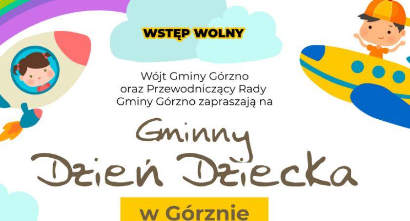 W Garwolinie, Dzień Dziecka Górznie - zdjęcie, fotografia