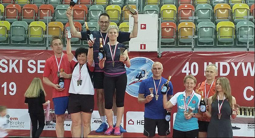 Badminton, Garwolin Mistrzostwach Polski Seniorów - zdjęcie, fotografia