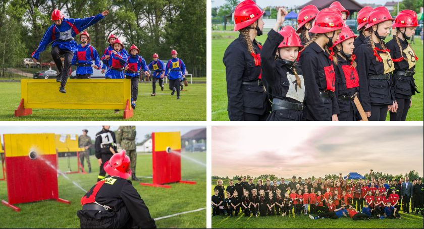Inne Ciekawostki, Gminne Zawody Sportowo Pożarnicze Młodzieżowych Drużyn Pożarniczych Żelechowie - zdjęcie, fotografia