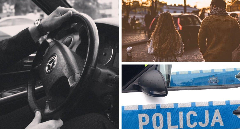 Inne Powiat, Mężczyzna czarnego mercedesa proponował dzieciom podwiezienie policji! - zdjęcie, fotografia