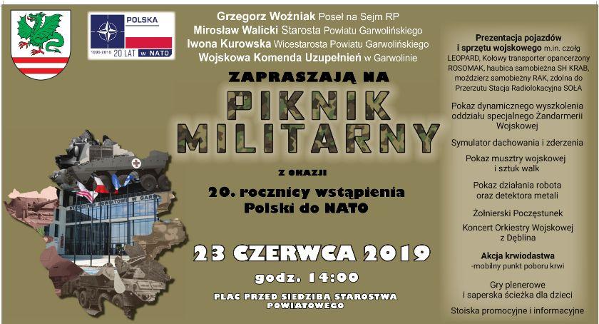 W Garwolinie, Piknik Militarny Garwolinie - zdjęcie, fotografia