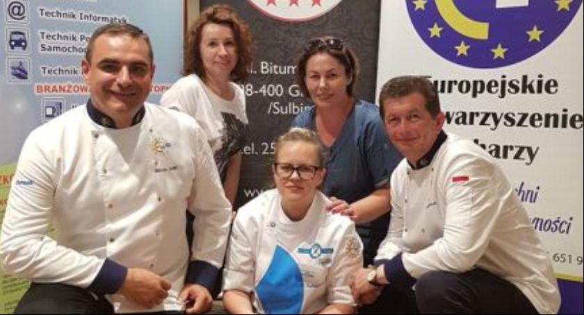 Patrycja Banaszek z ZS nr 2 zwyciężczynią międzynarodowego konkursu gastronomicznego