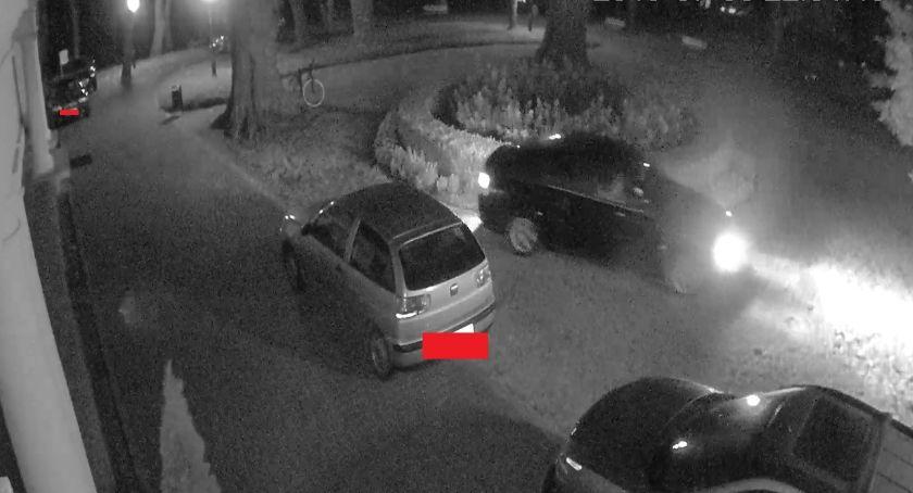 Inne Powiat, zniszczył klomb Kamery zarejestrowały sprawcę - zdjęcie, fotografia