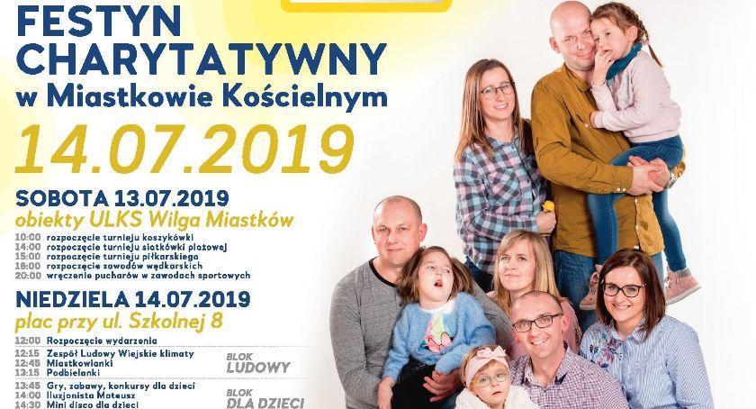 W Powiecie, Festyn charytatywny Spotkajmy Miastkowie Program imprezy - zdjęcie, fotografia