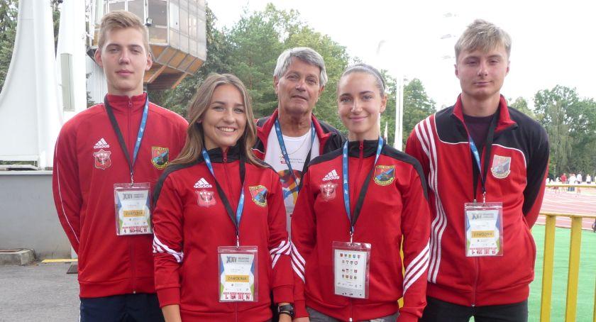 Lekkoatletyka, Udany start lekkoatletów Wilgi - zdjęcie, fotografia