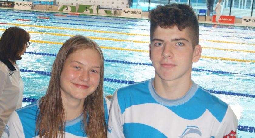 Pływanie, Mocne zakończenie sezonu wykonaniu pływaków Delfina - zdjęcie, fotografia