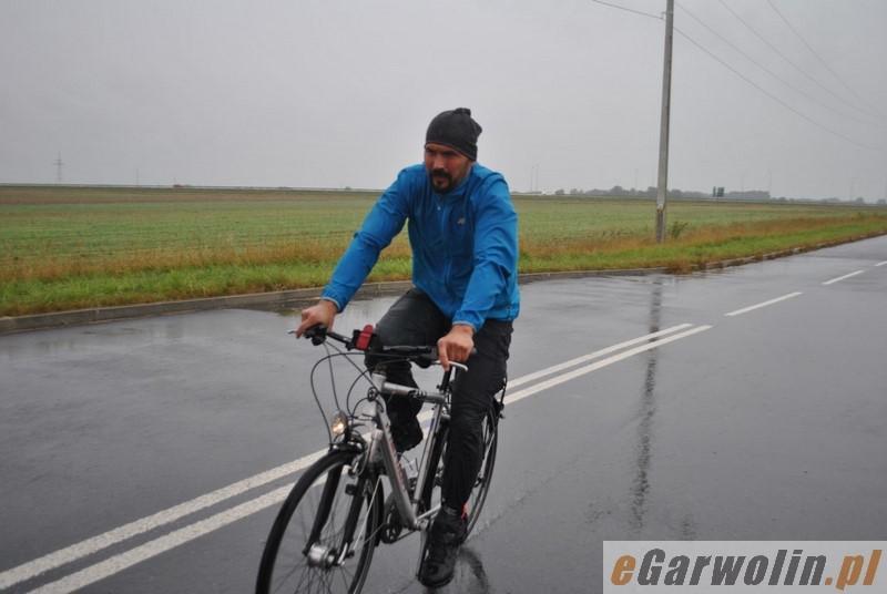 Kolarstwo, Ścigali deszczu - zdjęcie, fotografia