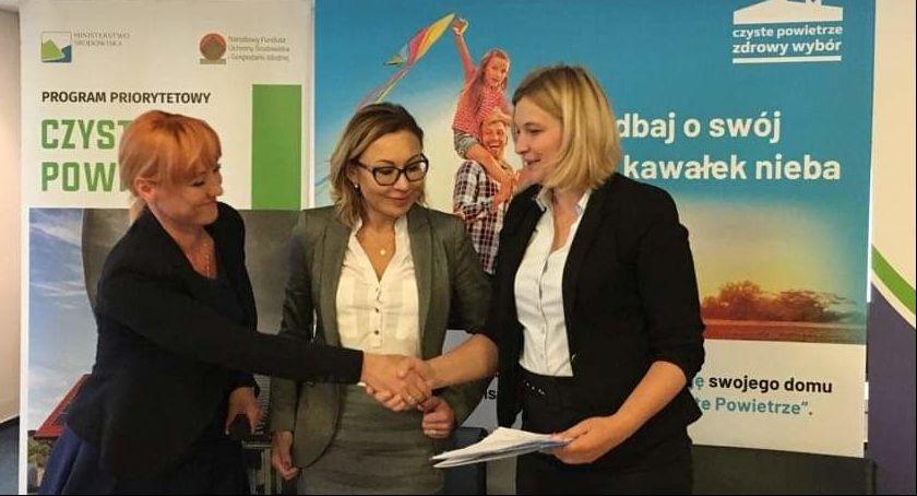 Inwestycje Powiat, Czyste Powietrze Garwolinie Żelechowie Trojanowie Maciejowicach - zdjęcie, fotografia
