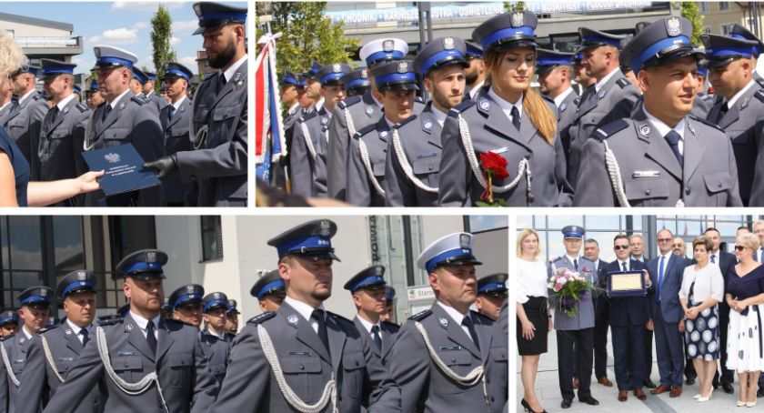 Inne Miejskie, Święto Policji Awanse wyższe stopnie - zdjęcie, fotografia