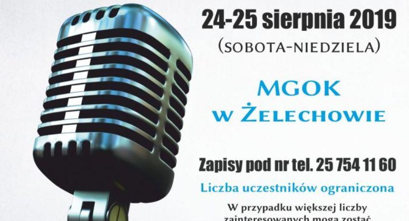 W Powiecie, Warsztaty wokalne Żelechowie - zdjęcie, fotografia