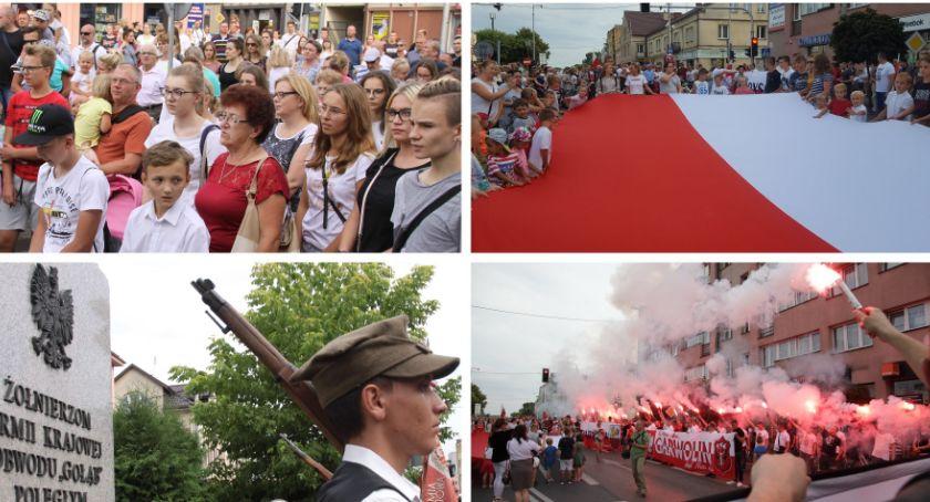 Uroczystości Miejskie, Garwolin oddał hołd Powstańcom Warszawy! Cześć chwała bohaterom! (video) - zdjęcie, fotografia