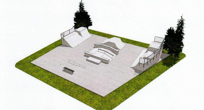 Inwestycje Miejskie, Skatepark Garwolinie wstępna koncepcja - zdjęcie, fotografia