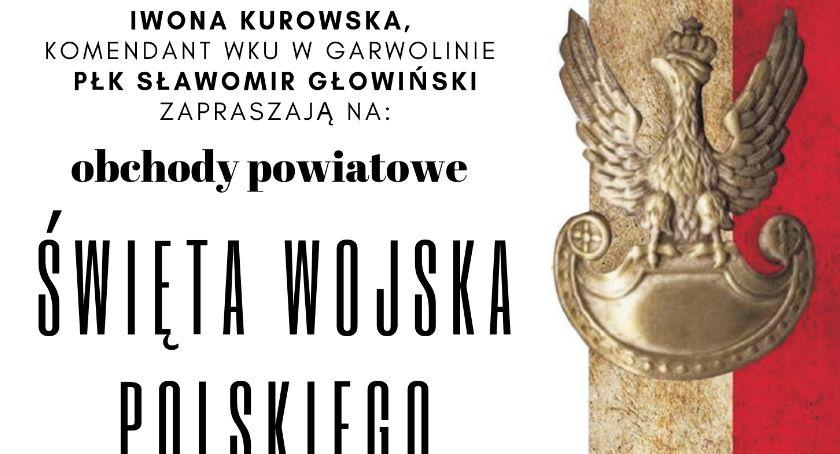 W Garwolinie, Obchody Święta Wojska Polskiego - zdjęcie, fotografia