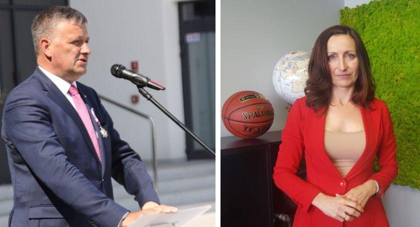 Inne Powiat, Woźniak Kurowska kandydatami Sejmu Prezes Kaczyński ogłosił listy - zdjęcie, fotografia