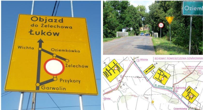 Inwestycje Powiat, Droga będzie zamknięta wyznaczono objazd Rusza przebudowa mostu - zdjęcie, fotografia