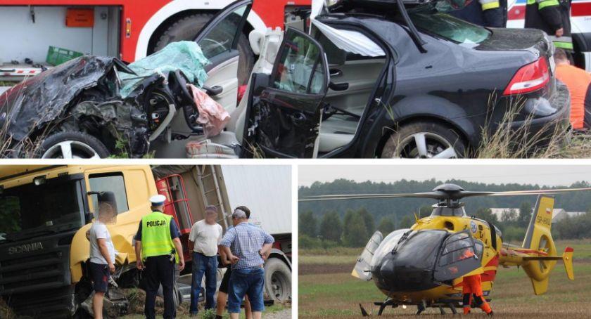 Wypadki drogowe , Śmiertelny wypadek żyje uczeń Lelewela - zdjęcie, fotografia