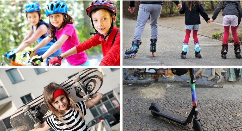 Inne Konkursy, Rower rolki hulajnoga deskorolka Nakręć profilaktyczny wygraj! - zdjęcie, fotografia