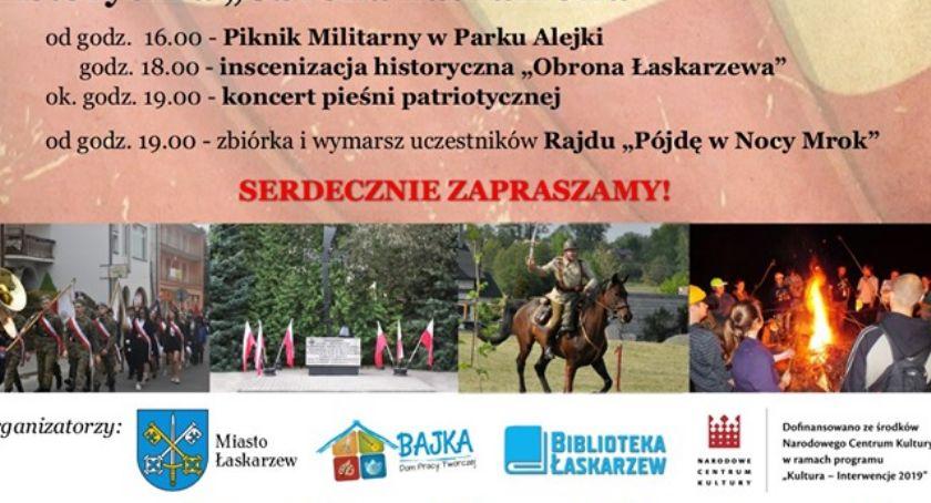 W Powiecie, Rocznica Obrony Łaskarzewa Piknik Militarny - zdjęcie, fotografia