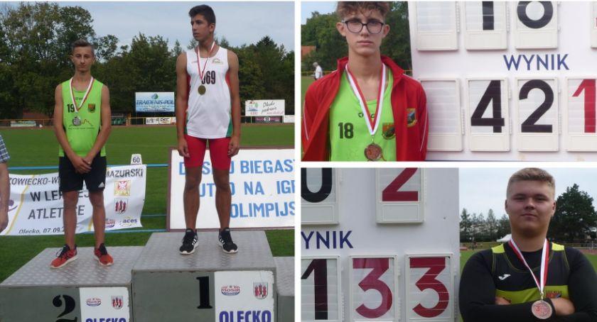 Lekkoatletyka, Przywieźli medale pobili rekordy życia powiatu - zdjęcie, fotografia