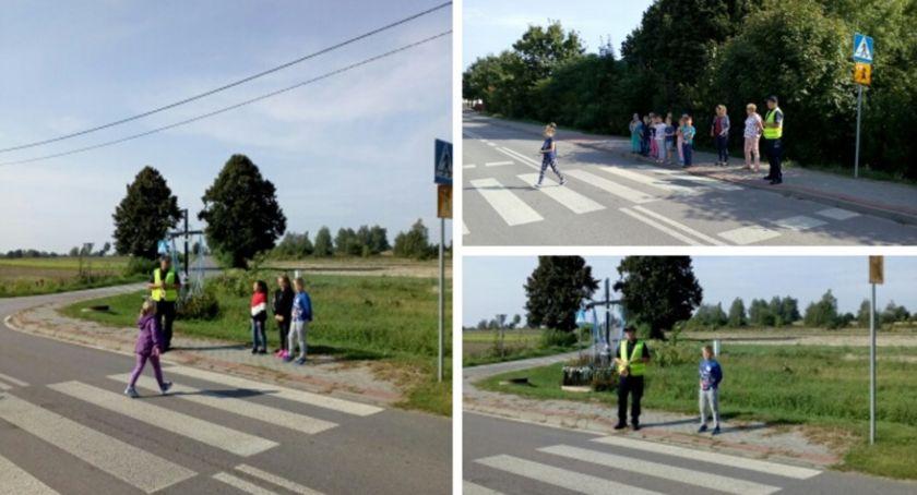 Inne Powiat, Kierowco! polujemy zebrach Bezpieczna droga szkoły - zdjęcie, fotografia
