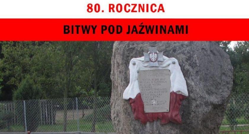 Uroczystości Powiat, rocznica bitwy Jaźwinami Program uroczystości - zdjęcie, fotografia