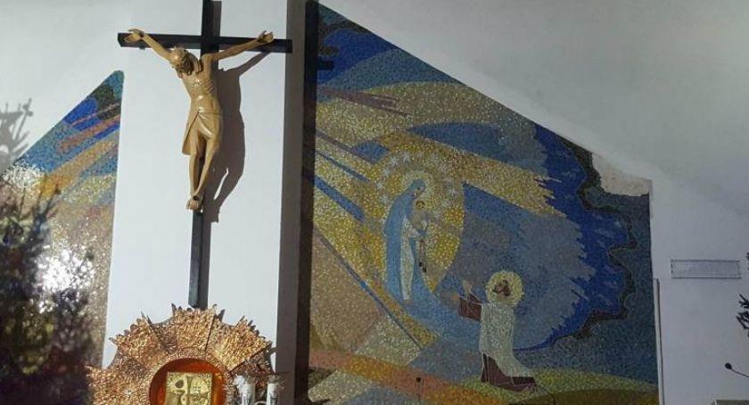 Sprawy kryminalne , Włamanie kościoła ukradli złodzieje - zdjęcie, fotografia