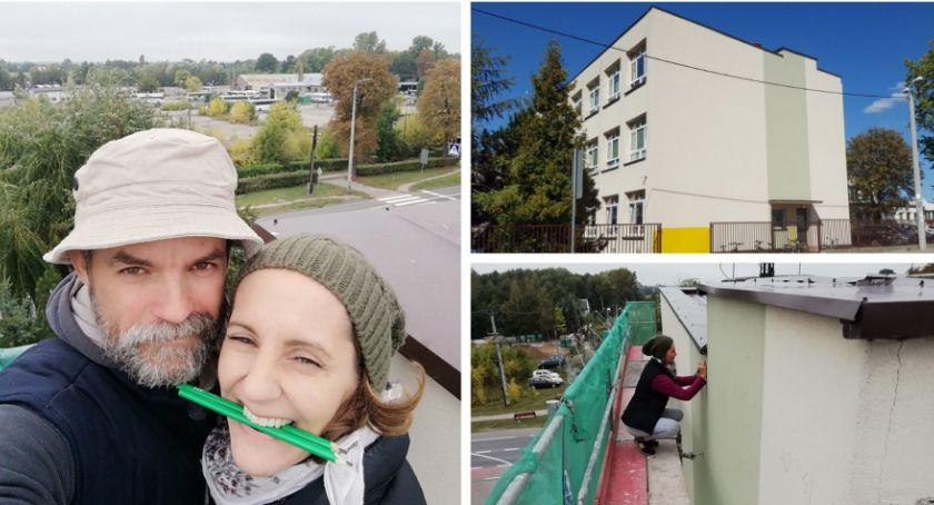 Inne Miejskie, Wykonają największy mural karierze będą strzelcy Garwolina! - zdjęcie, fotografia