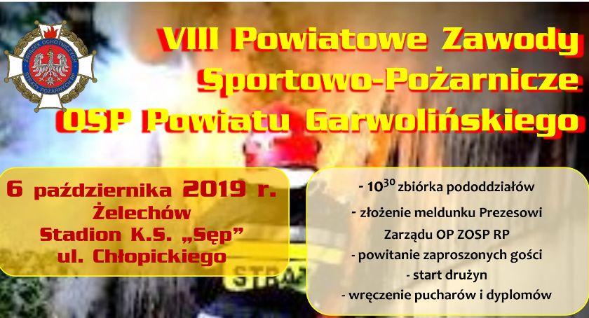 W Powiecie, Powiatowe Zawody Sportowo Pożarnicze niedzielę - zdjęcie, fotografia