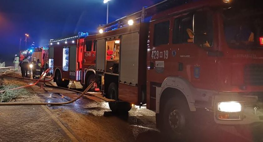 Pożary - interwencje straży, Pożar hotelowejpralni Talarii - zdjęcie, fotografia