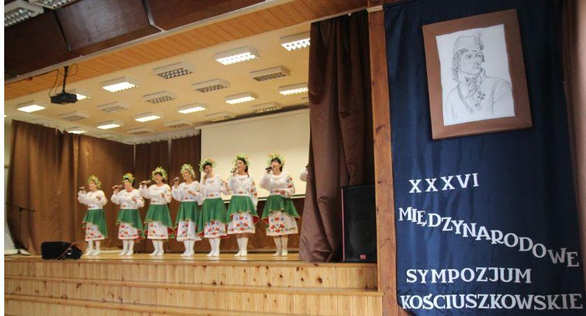 Historia, XXXVI Międzynarodowe Sympozjum Kościuszkowskie Żelechowie - zdjęcie, fotografia