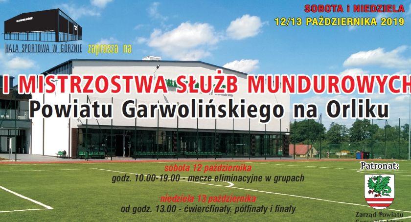 W Powiecie, Mistrzostwa Służb Mundurowych Powiatu Garwolińskiego Górznie - zdjęcie, fotografia