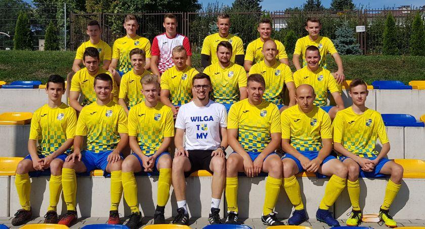 Piłka nożna, sąsiadem Wilga zagra Węgrowie - zdjęcie, fotografia