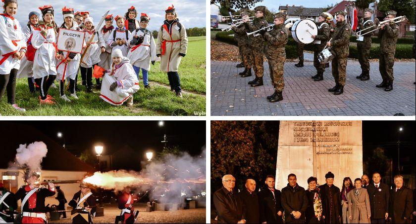 Uroczystości Powiat, Maciejowicach obchodzili kolejną rocznicę Insurekcji Kościuszkowskiej - zdjęcie, fotografia