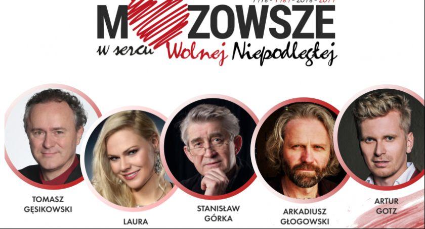 W Powiecie, Mazowsze sercu Wolnej Niepodległej Łaskarzewie - zdjęcie, fotografia