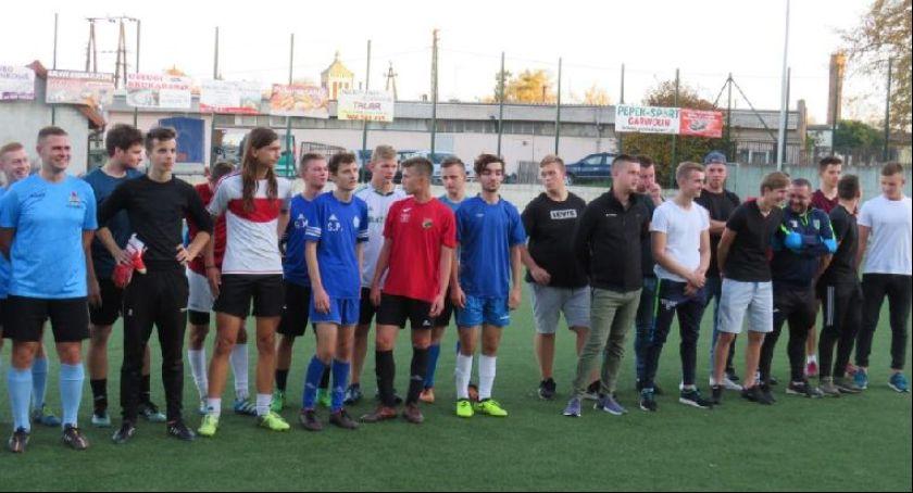 Piłka nożna, Mistrzostwa Służb Mundurowych Powiatu Garwolińskiego - zdjęcie, fotografia
