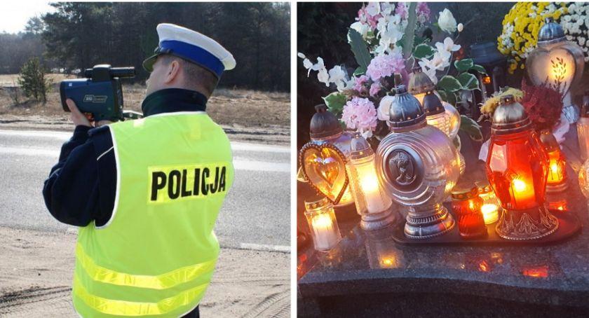 Inne Powiat, Policyjna akcja Znicz powiecie Podsumowanie - zdjęcie, fotografia