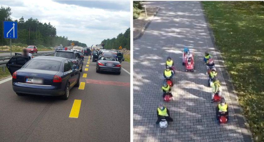 Inne Ciekawostki, Korytarz życia podczas wypadku Kierowcy przedszkolaki (video) - zdjęcie, fotografia
