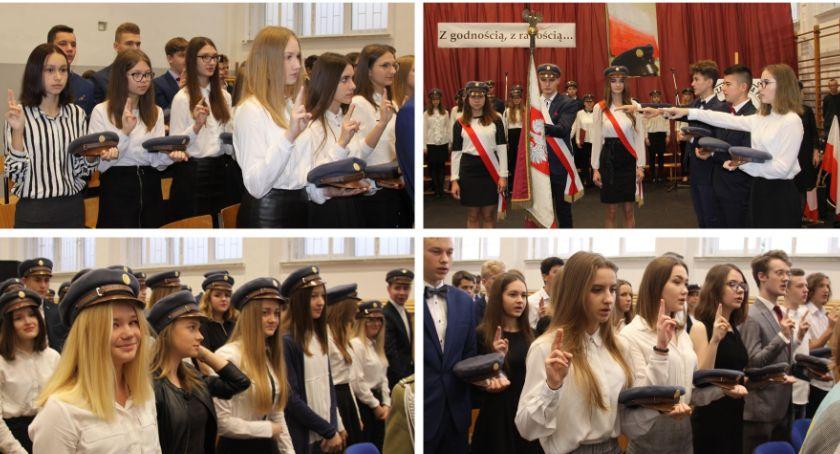 Uroczystości Miejskie, Ślubowanie czapkowanie Długiej Zdjęcia video - zdjęcie, fotografia
