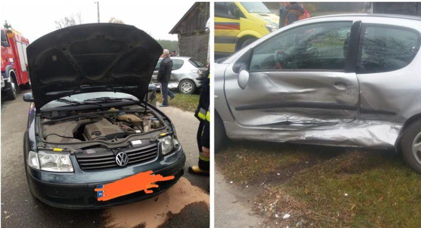 Wypadki drogowe , Kolizja samochodów aucie było kilkumiesięczne dziecko - zdjęcie, fotografia