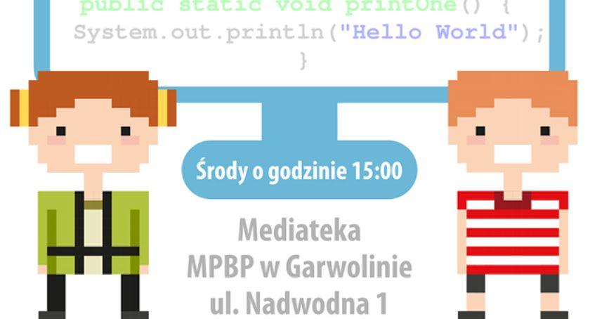 W Garwolinie, Kodowanie robotyka dzieci Mediatece - zdjęcie, fotografia