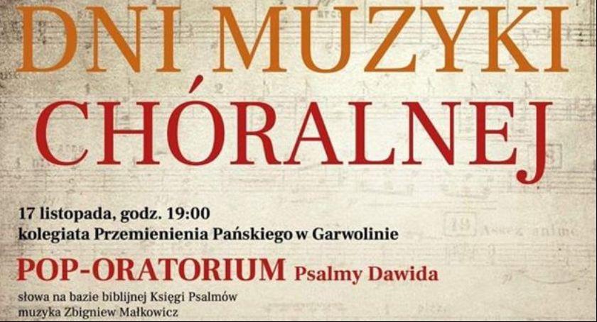 W Garwolinie, Garwolińskie Muzyki Chóralnej - zdjęcie, fotografia