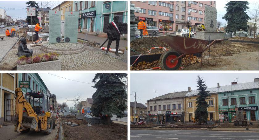 Inwestycje Miejskie, Skwer Lecha Kaczyńskiego zyska wygląd! - zdjęcie, fotografia